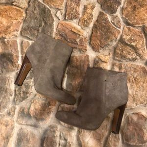 Coach Suede Hanni Bootie in Taupe Size 7
